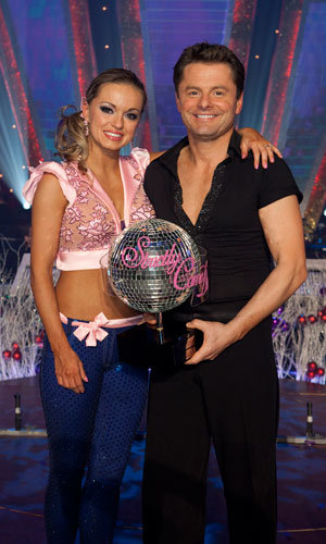 Chris Hollins is surprise winner of Strictly Come Dancing