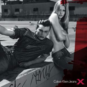 Lara Stone is the face of Calvin Klein's latest collections