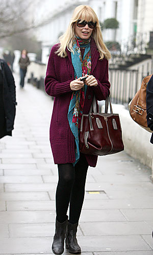 Pregnant Claudia Schiffer shows off her maternity style