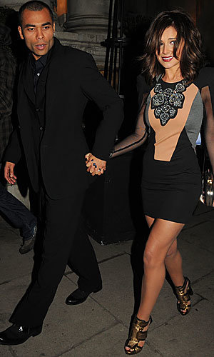 Cheryl Cole and Kimberley Walsh go glam for Gary Barlow's 10th wedding anniversary party