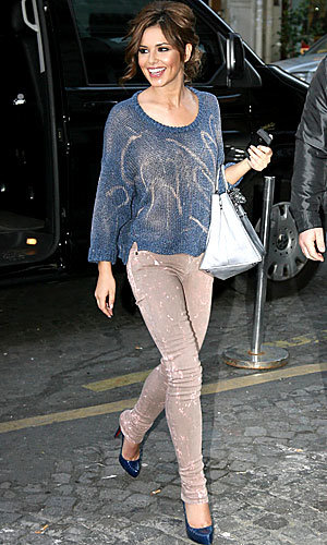 CELEB HIGH STREET BUY: Cheryl Cole's bleached top