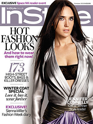 Jennifer Connelly smoulders on InStyle cover
