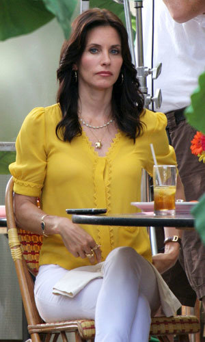 SEE: Courteney Cox's on-set style