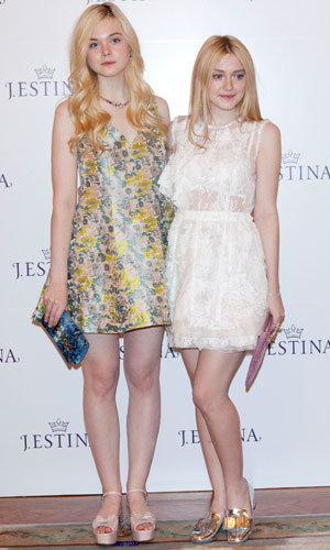 Sister act: Elle and Dakota Fanning reunite for J.Estine jewellery launch