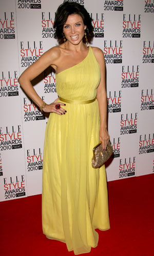Dannii Minogue shows off her blooming bump