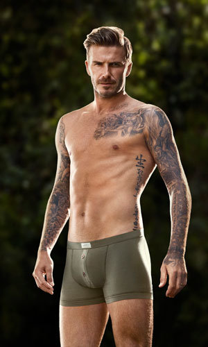 David Beckham is back in his underwear for new H&M Bodywear collection!