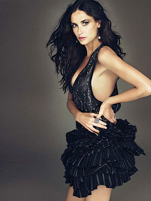 Demi Moore simply sizzles on cover of W magazine