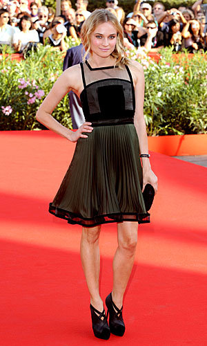 Diane Kruger is picture-perfect in Venice