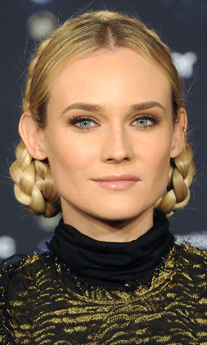 Diane Kruger and Florence Welch rock Heidi plaits!