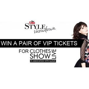 Win VIP passes for the Clothes Show Live and the chance to see your outfit on the catwalk!