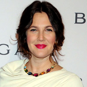 Get Drew Barrymore's faux bob hairstyle