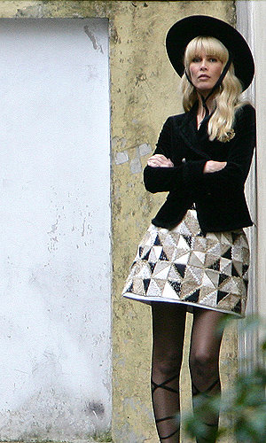 SEE Claudia Schiffer looking fab on new Chanel shoot