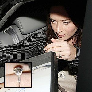 SEE Emily Blunt's engagement ring!
