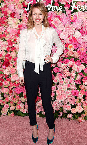 Emma Roberts, Kate Mara and co. wow at Salvatore Ferragamo fragrance launch!