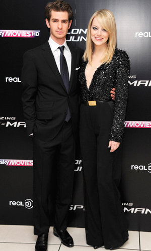 WATCH: Emma Stone and Andrew Garfield at The Amazing Spider-Man premiere in London!
