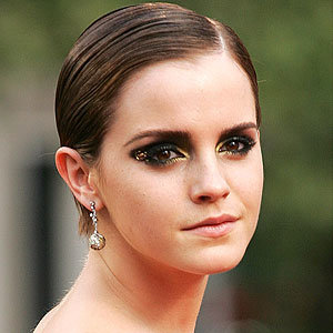Emma Watson's make-up steals the show at the Harry Potter premiere...