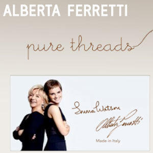 Emma Watson and Alberta Ferretti's Pure Threads line goes on sale TODAY!
