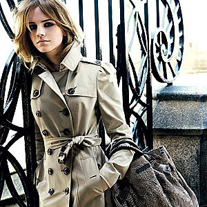 Emma Watson is the new face of Burberry