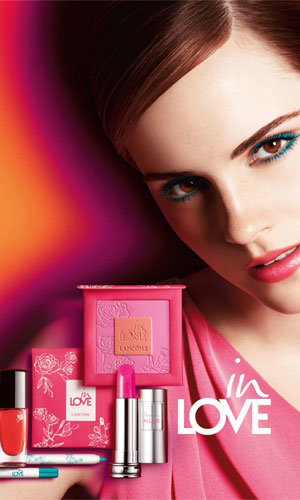 Emma Watson's new Lancôme In Love pictures revealed