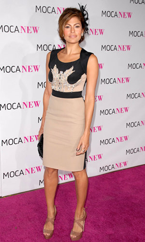 Brangelina get arty at the MOCA party