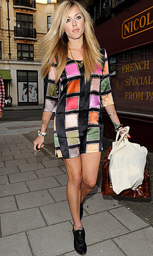 Fearne Cotton glams it up in Olivia Rubin
