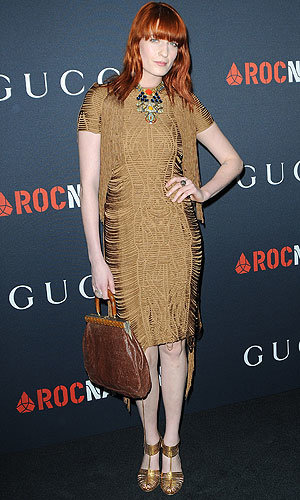 Florence Welch is announced as the new face of Gucci