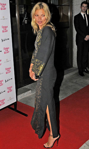 Kate Moss and Naomi Campbell hit the Fashion for Relief charity dinner