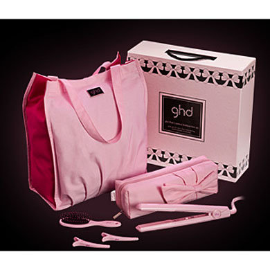GHD hair styler launches in pink for Breakthrough Breast Cancer