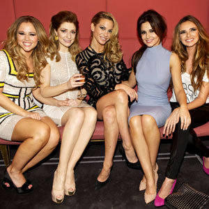 Cheryl Cole and Girls Aloud party the night away in style!