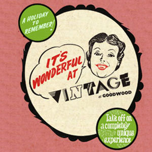 WIN: Vintage at Goodwood tickets!