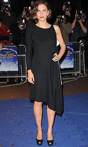 Maggie Gyllenhaal and Emma Thompson light up Leicester Square at Nanny McPhee premiere