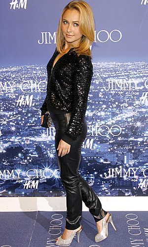 Stars sparkle at Jimmy Choo for H&M LA launch
