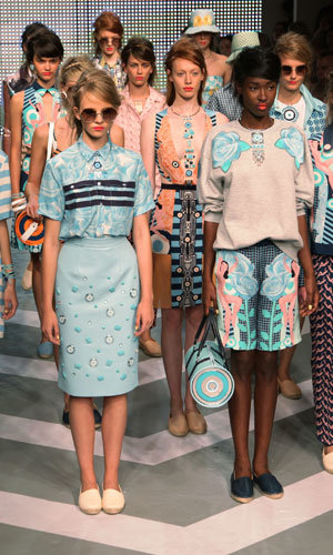 Holly Fulton brings sunshine to London Fashion Week