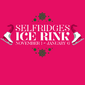 Ice skating at Selfridges!