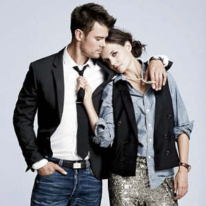 Katie Holmes and cast of The Romantics model for J. Crew