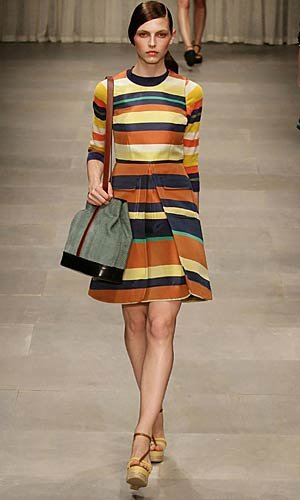 LONDON FASHION WEEK: Jonathan Saunders, House of Holland and Jaeger London, plus Olivia Palermo, Beyonce AND Kristen Stewart front row at Mulberry!