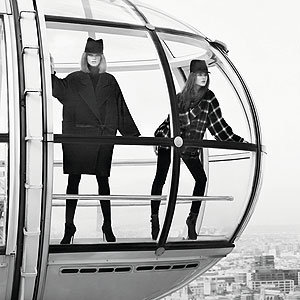 SEE Behind the scenes on Jaeger A/W shoot