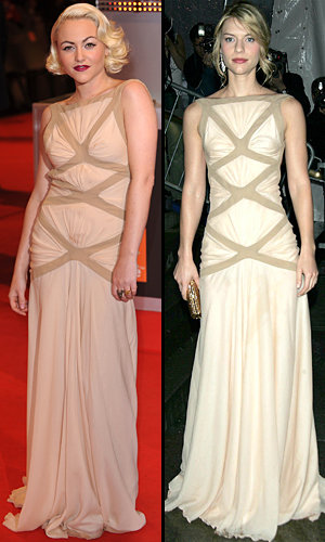 STYLE SNAP: Claire Danes and Jaime Winstone in Alexander McQueen