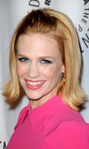 Get January Jones' quiff in five easy steps