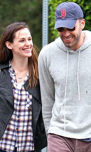 Jen and Ben celebrate five years of marriage
