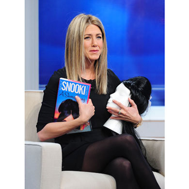 Birthday girl Jennifer Aniston gets gifts on The Early Show