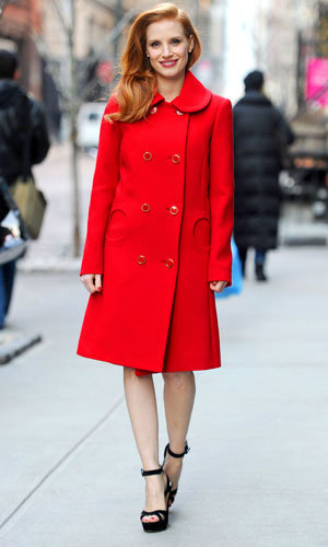 Celebrity fashion trend: everyone's wearing red!