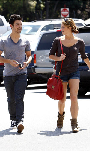 Ashley Greene and Joe Jonas out and about in LA.