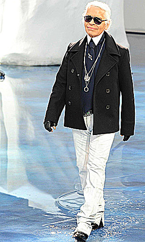 Karl Lagerfeld to receive top French honour