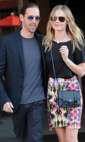Kate Bosworth and Michael Polish look stylish in New York!