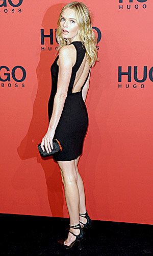 Kate Bosworth and Poppy Delevingne style it up at Hugo Boss Fashion Show!