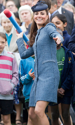 WATCH: Kate Middleton sings the National Anthem!