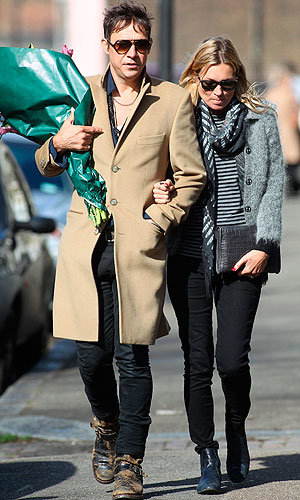 Kate Moss and Jamie Hince enjoy a romantic weekend!