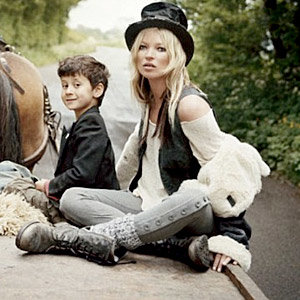 PICS: Kate Moss goes glam hippy for new photo shoot