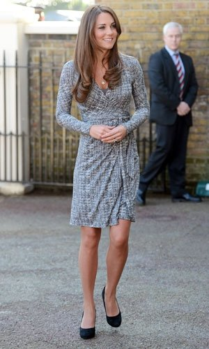 Pregnant Kate Middleton topped in fashion poll by Rihanna and Blake Lively